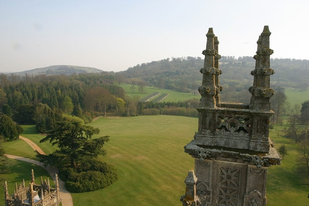 Highclere Castle grounds - Highclere's Canadian connection