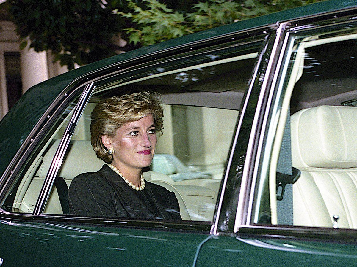 Princess Diana facts - green car