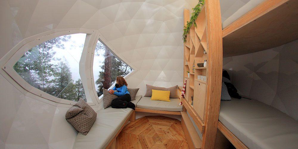 Quirky hotels across Canada - Cap Jaseux Adventure Park