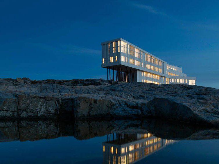 Quirky hotels across Canada - Fogo Island Inn