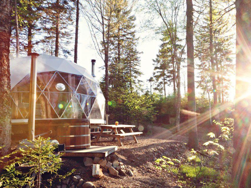 Quirky hotels across Canada - Ridgeback Lodge