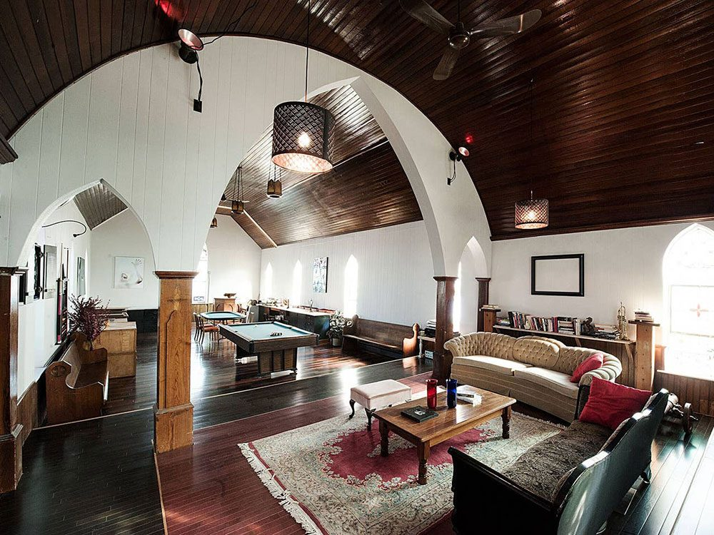 Quirky hotels across Canada - Thedford Church