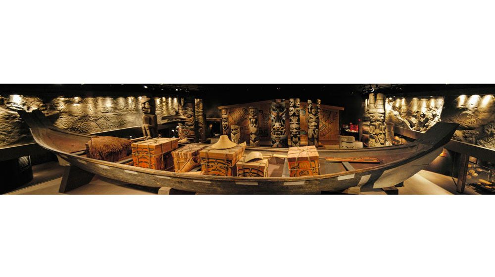 Royal B.C. Museum - Canoe