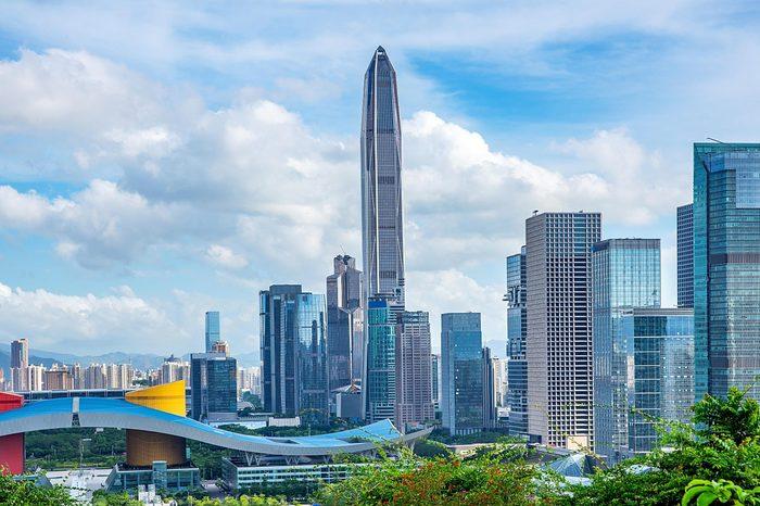 Shenzhen Civic Center CBD Ping An Financial Center