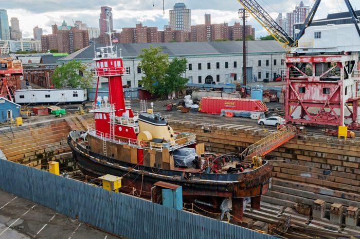 The Brooklyn Navy Yard