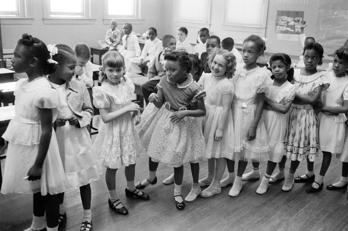 integrated school 1955