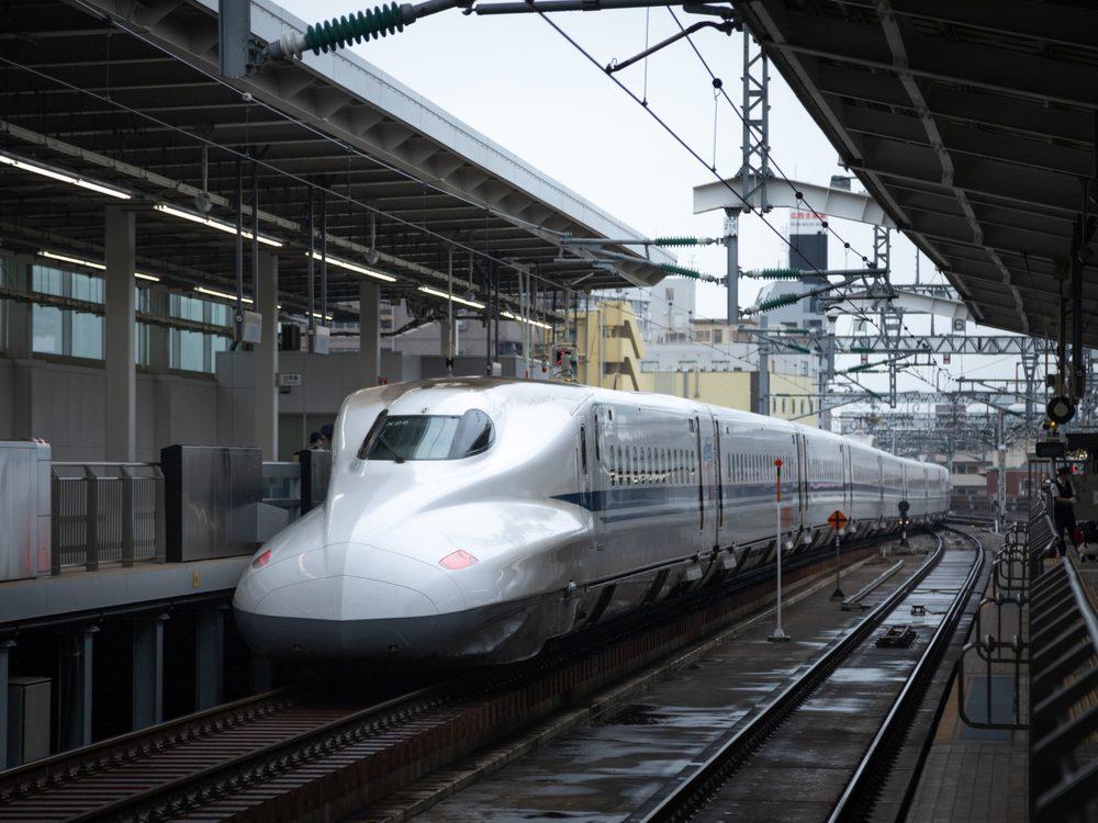 speed japanese train