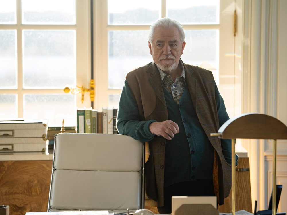"Brian Cox in ""Succession"""