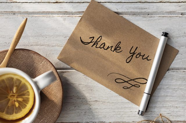 Thank-you-card