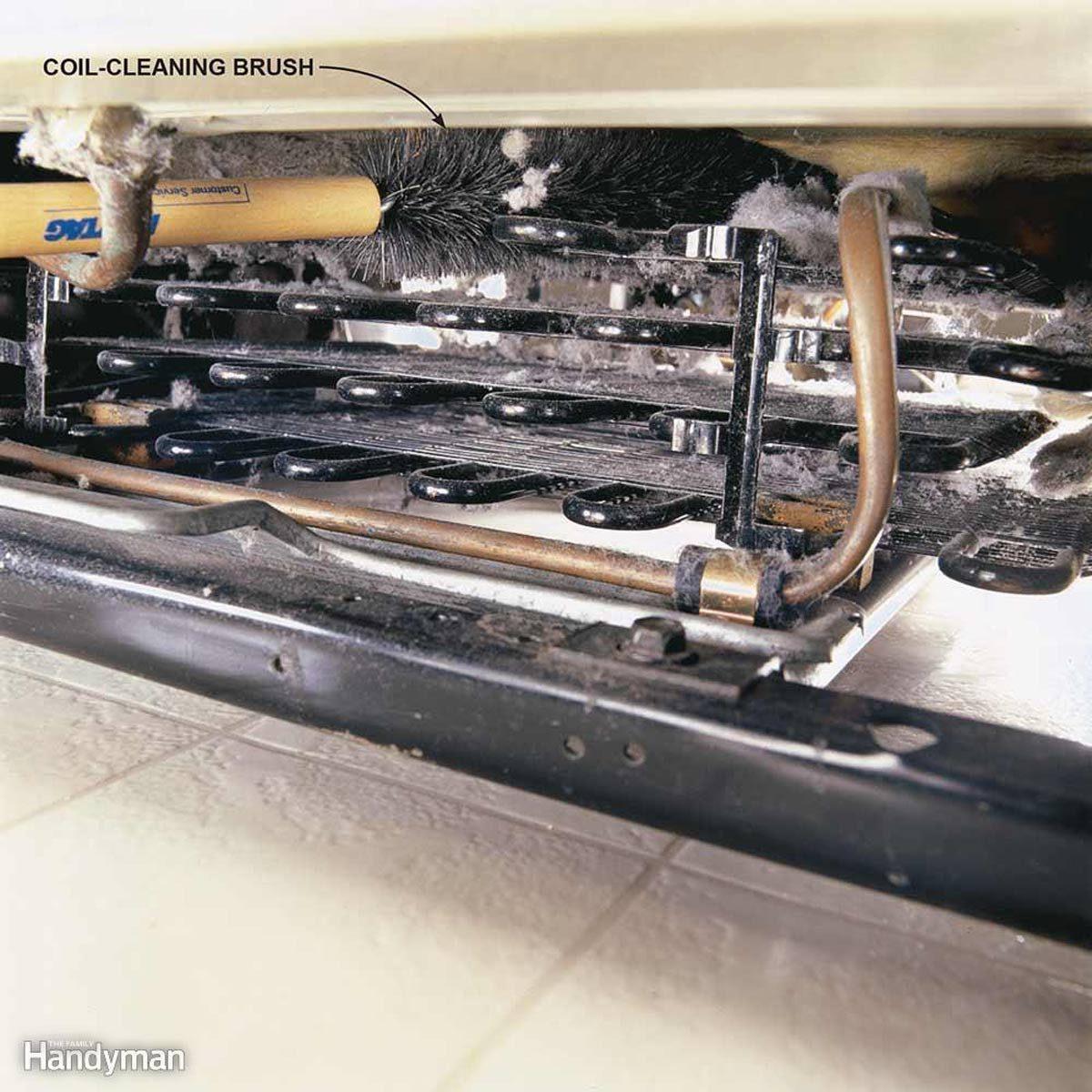 clean-refrigerator coils