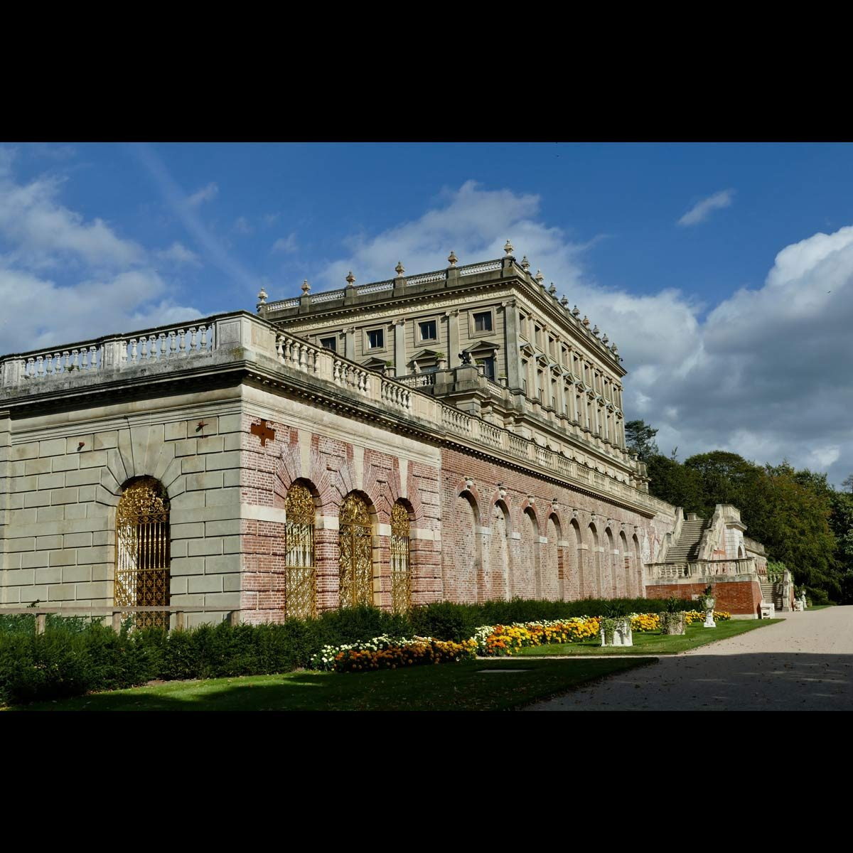 Cliveden House in Taplow in the afternoon sunshine