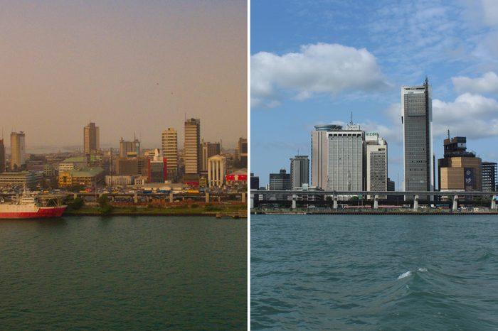 Lagos Nigeria smog