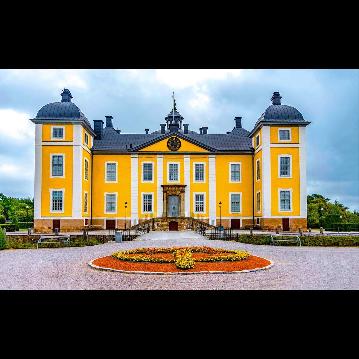 Strömsholm-Palace entrance landscape
