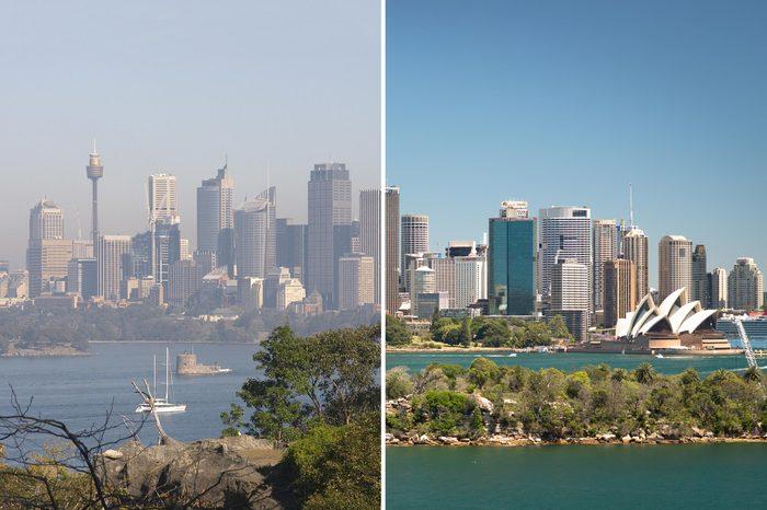 Sydney Australia Smog