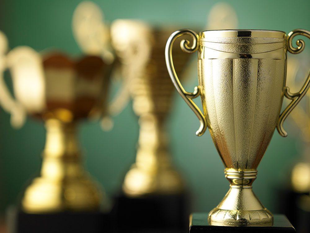 Classic car cruise car show trophy