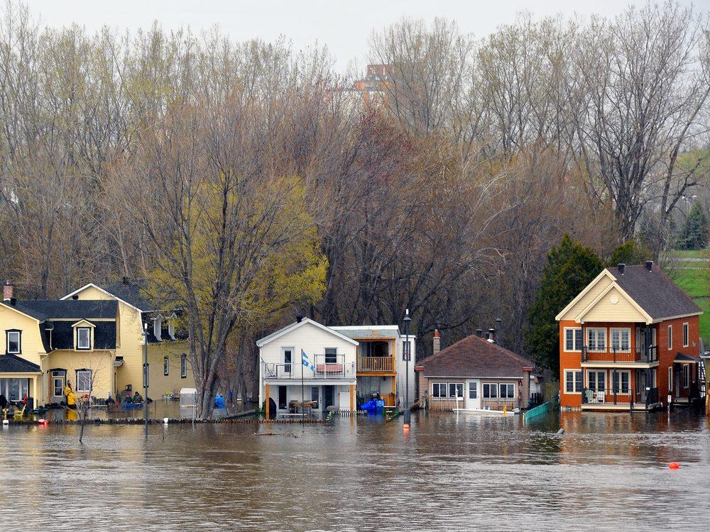 Severe flooding in Quebec
