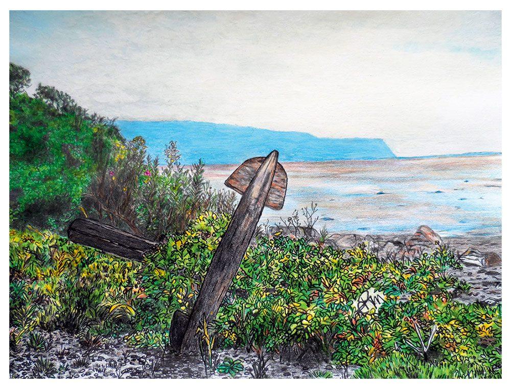 Cumberland Anchor by Rhonda MacLellan