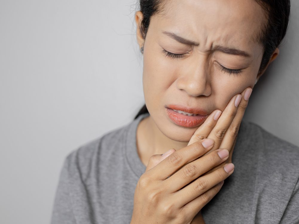 Mouth pain
