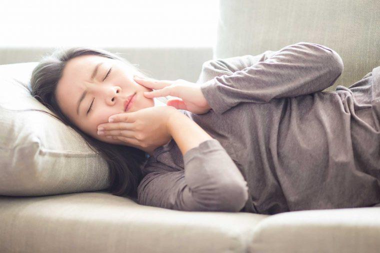 Extreme tooth sensitivity