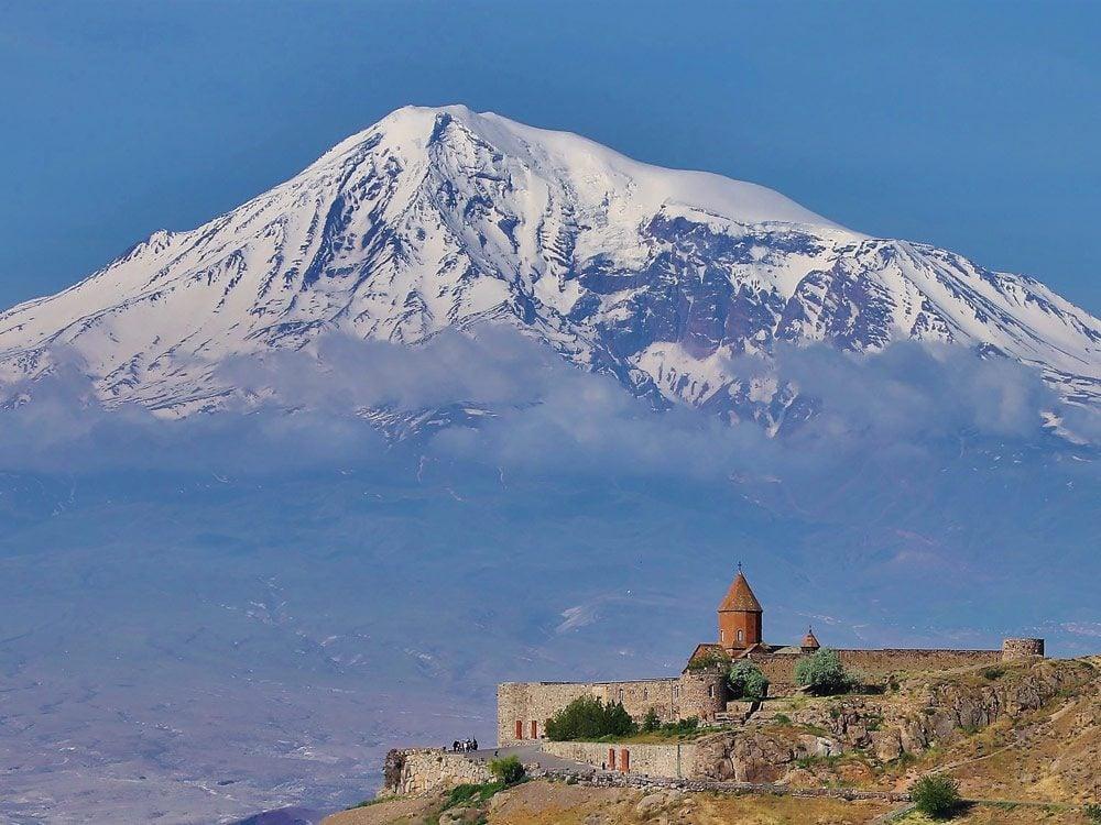 Klor Virap Monastery in Armenia