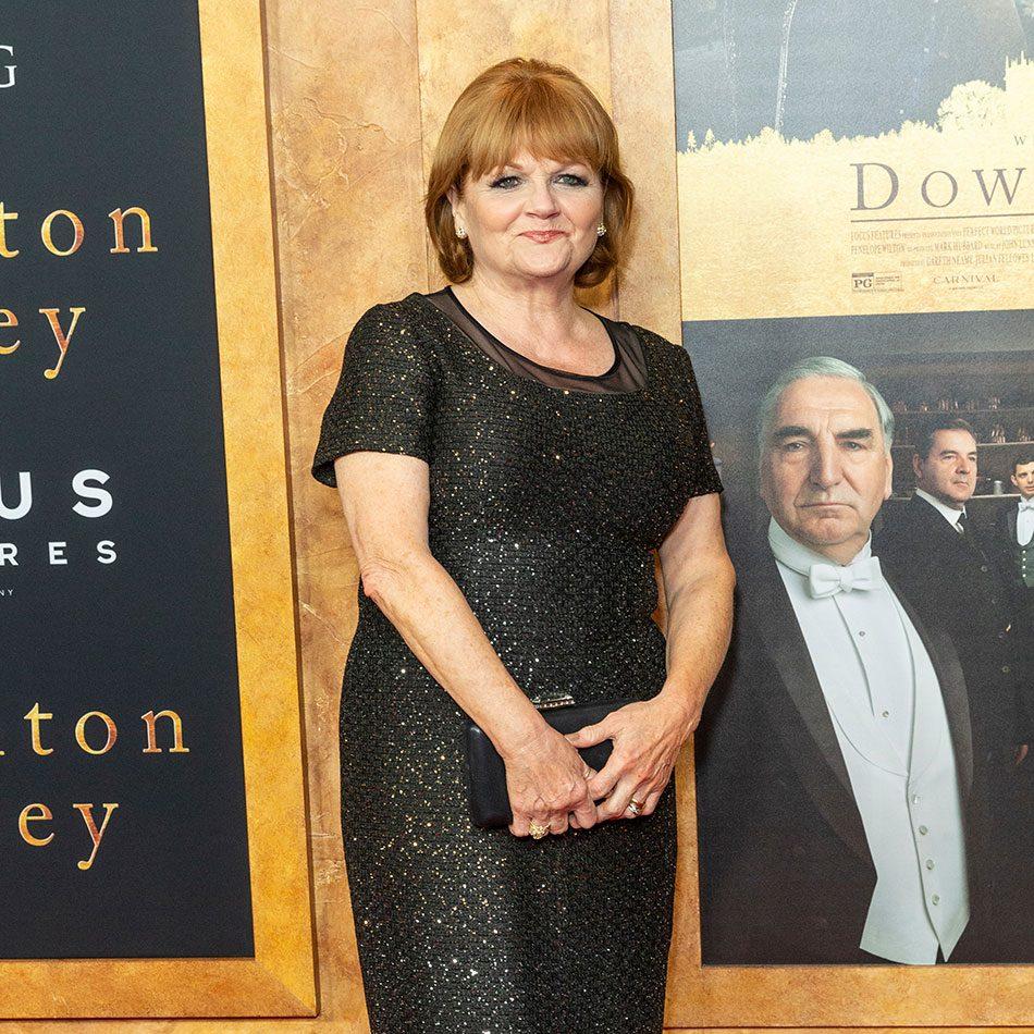 Downton Abbey movie premiere - Lesley Nicol