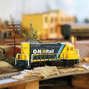 O.N.R. train model