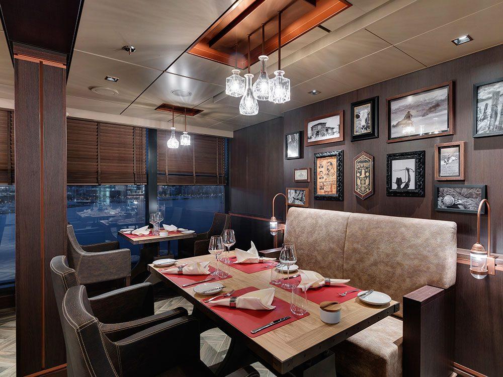 Butcher's Cut Restaurant on MSC Seaside