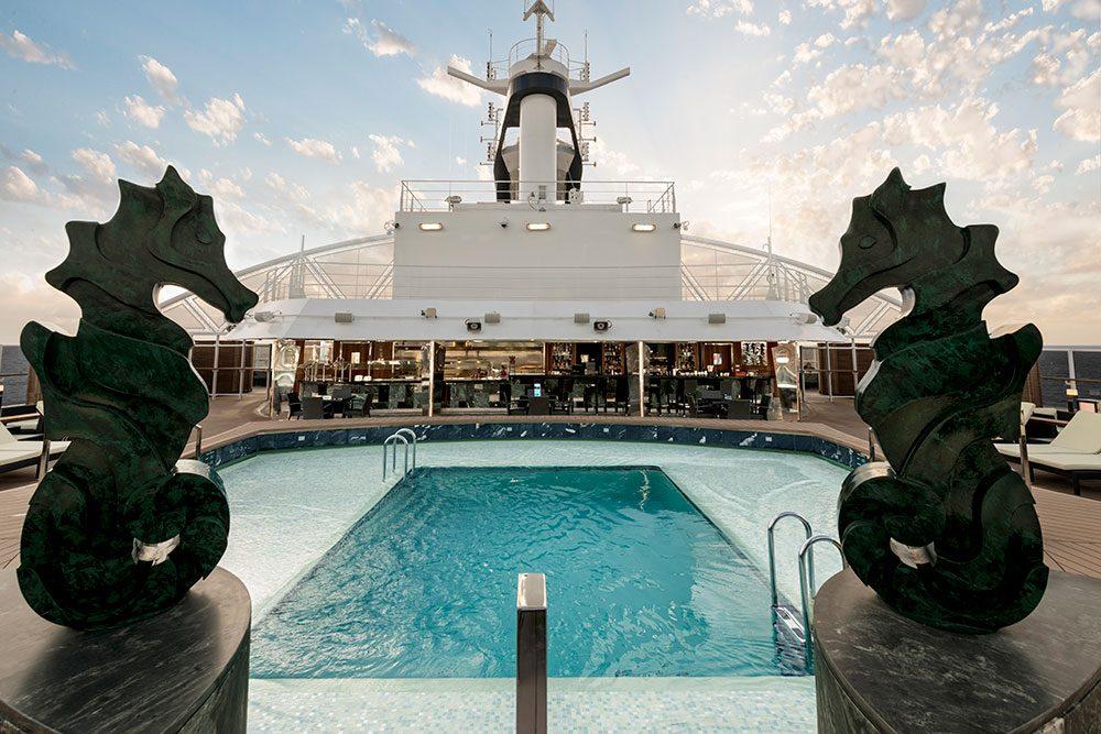 MSC Seaside MSC Yacht Club Pool
