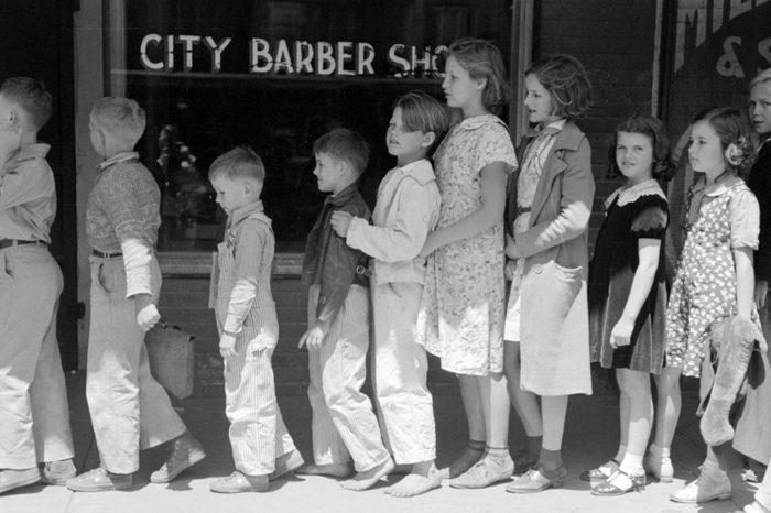 barber shop line