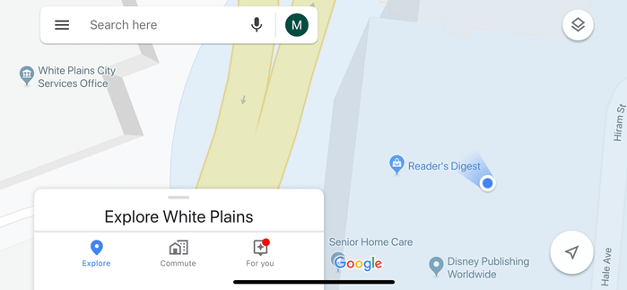 google maps bearings