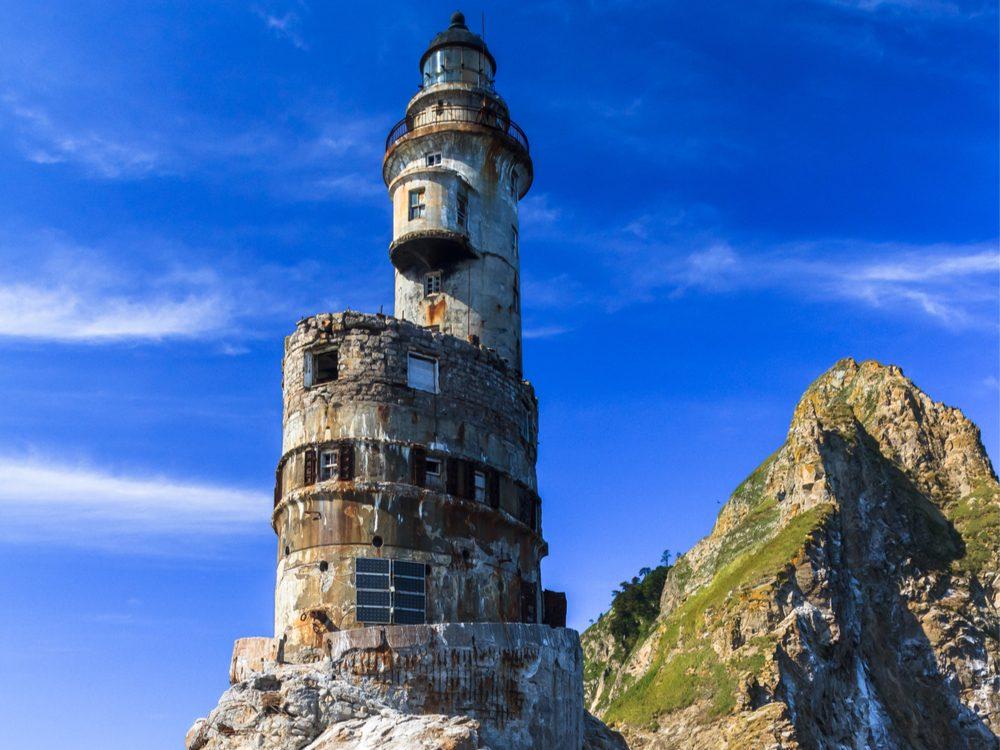 The Aniva lighthouse