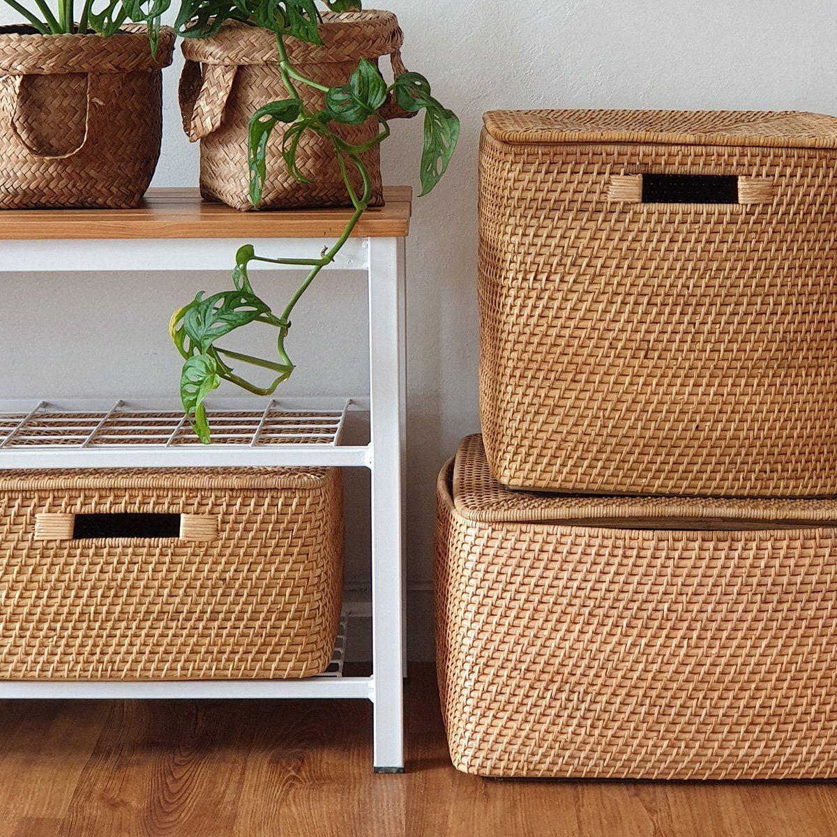 Basket bin overload