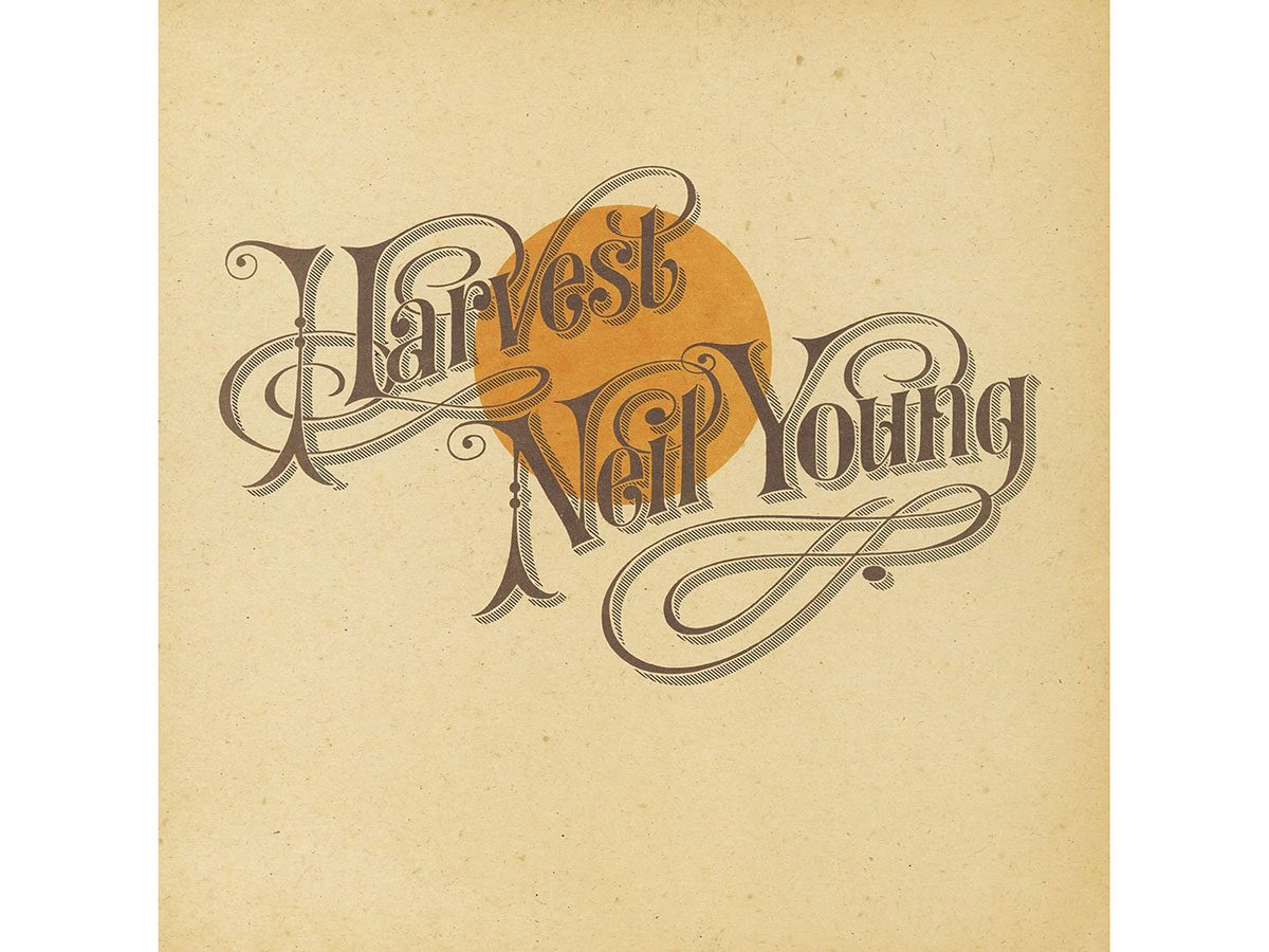 Best road trip songs - Neil Young Harvest