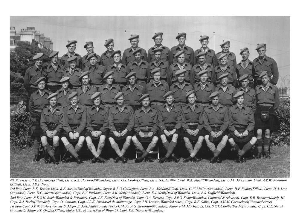 Black Watch, Canadian WWII sniper squad