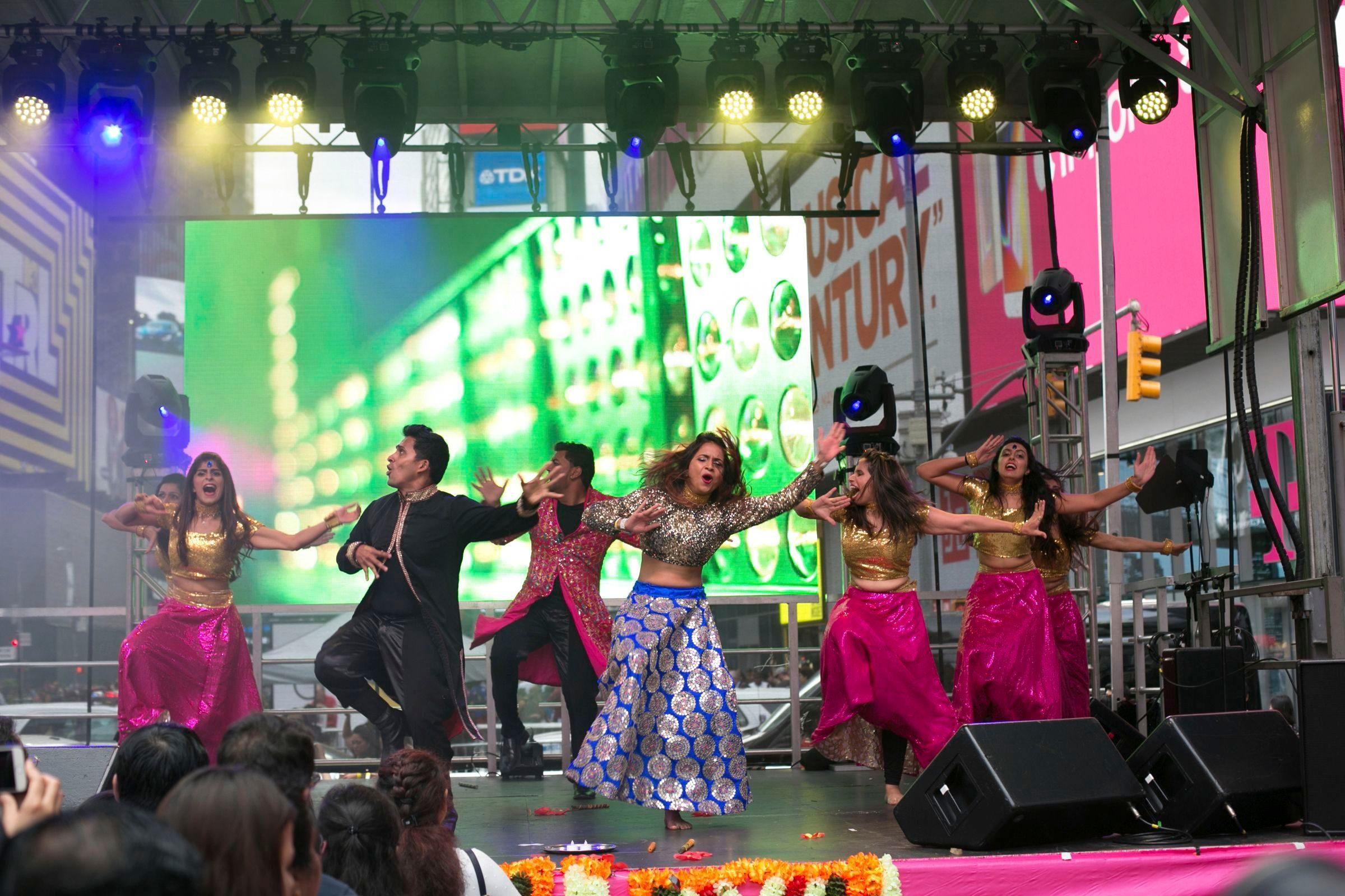 Diwali Festival , New York, USA - 07 Oct 2017