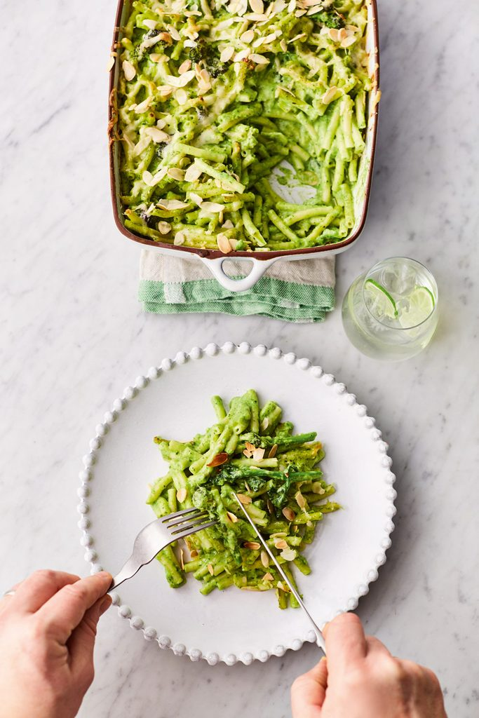 Greens Mac 'N' Cheese