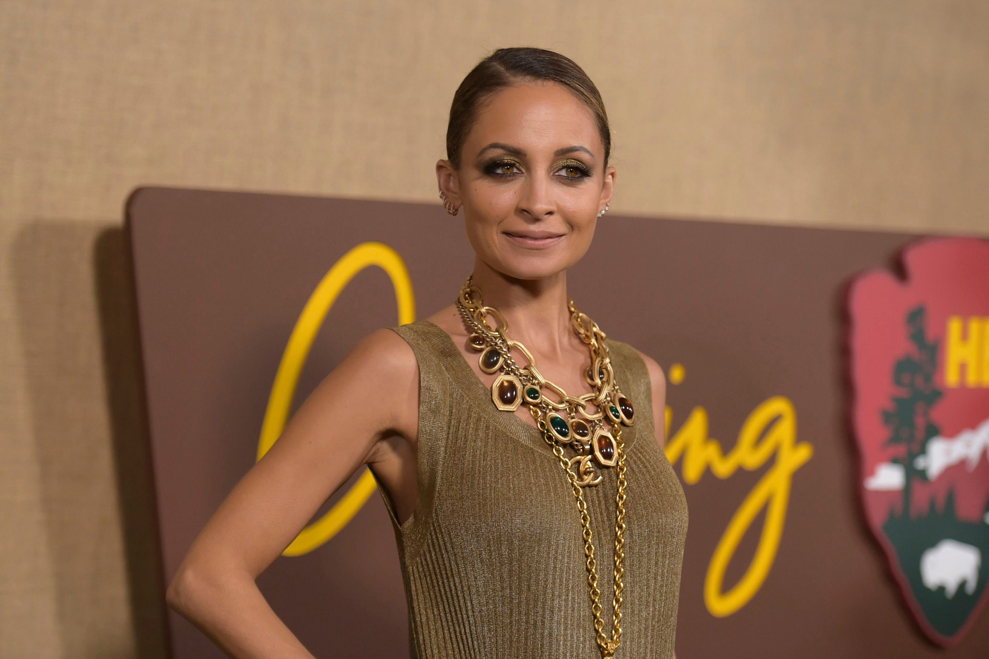 """Mandatory Credit: Photo by Richard Shotwell/Invision/AP/Shutterstock (9921912cl) Nicole Richie arrives at the Los Angeles premiere of """"Camping"""", at Paramount Studios LA Premiere of """"Camping"""", Los Angeles, USA - 10 Oct 2018"""