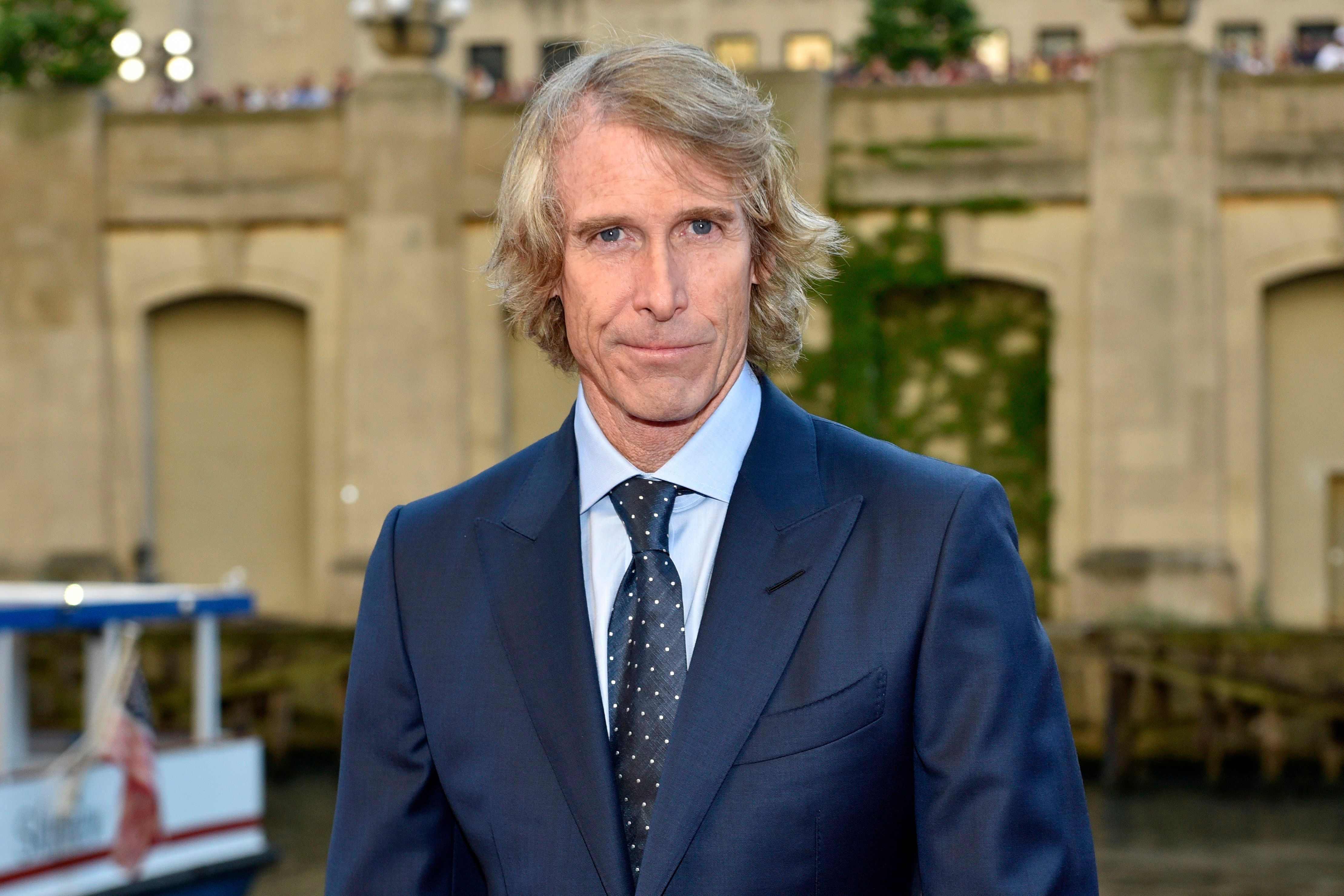 """Mandatory Credit: Photo by Invision/AP/Shutterstock (9242097br) Michael Bay attends the U.S. premiere of """"Transformers: The Last Knight"""" at the Civic Opera House, in Chicago US Premiere of """"Transformers: The Last Knight"""", Chicago, USA - 20 Jun 2017"""
