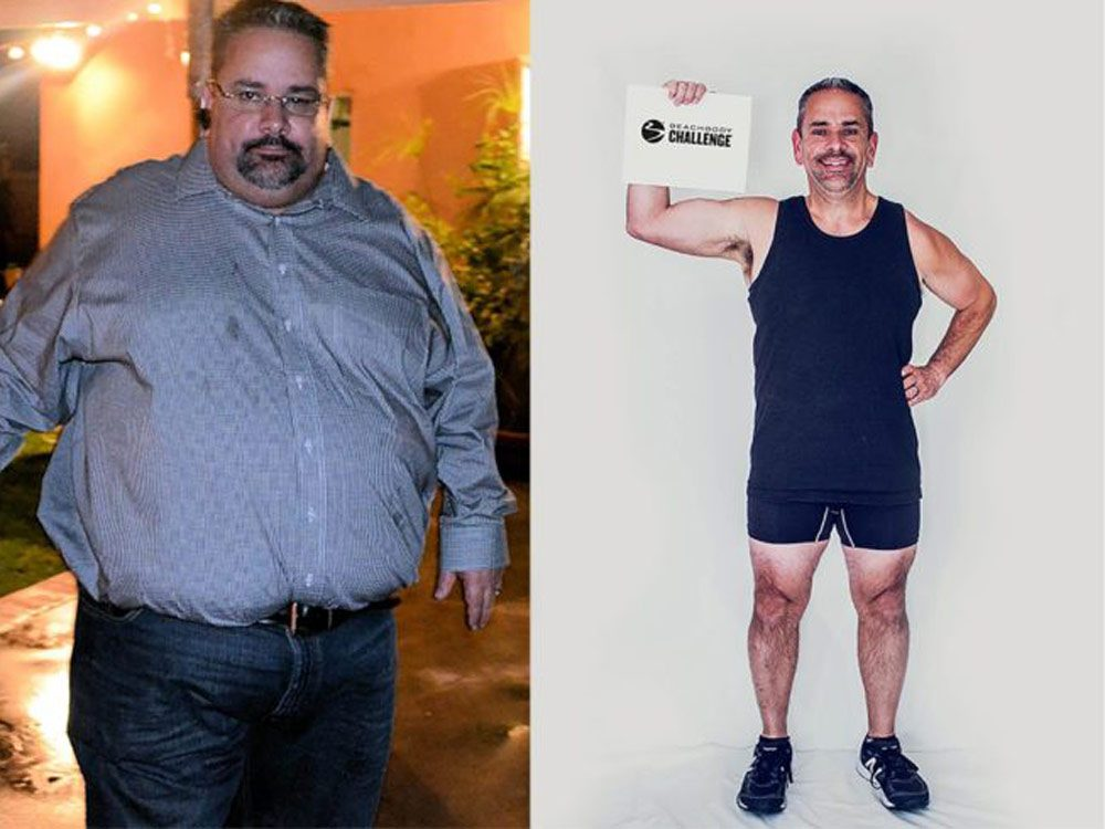 Weight loss transformations
