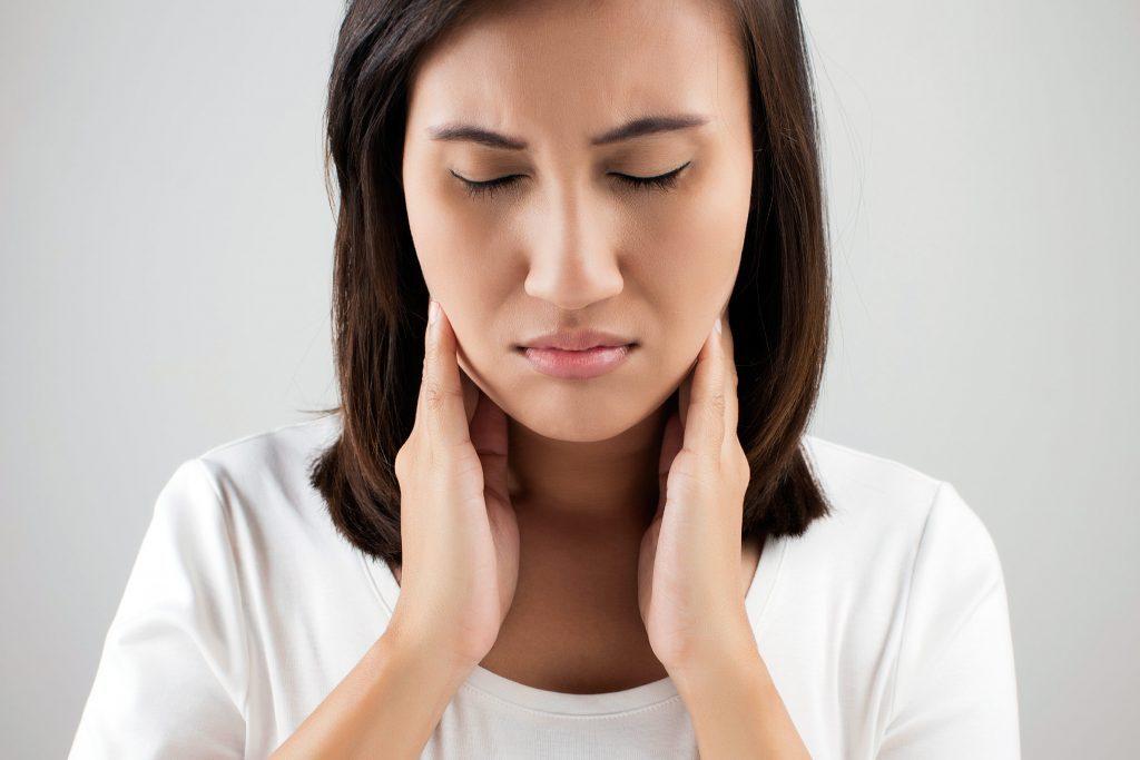 Thyroid pain