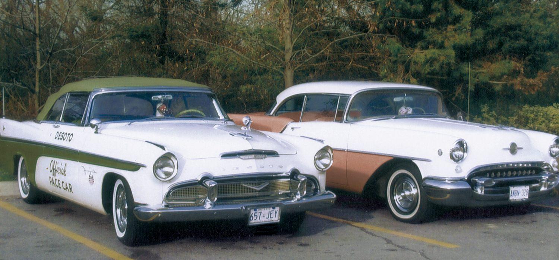 1956 De Soto Pacesetter and 1955 Oldsmobile Sedan