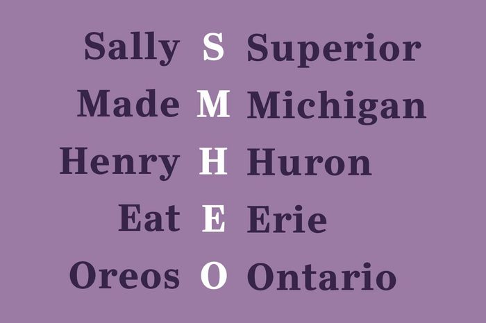 the great lakes mnemonic device