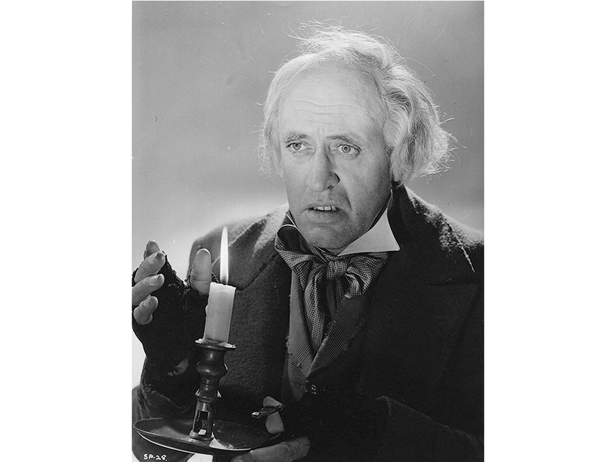 Alistair Sim in A Christmas Carol