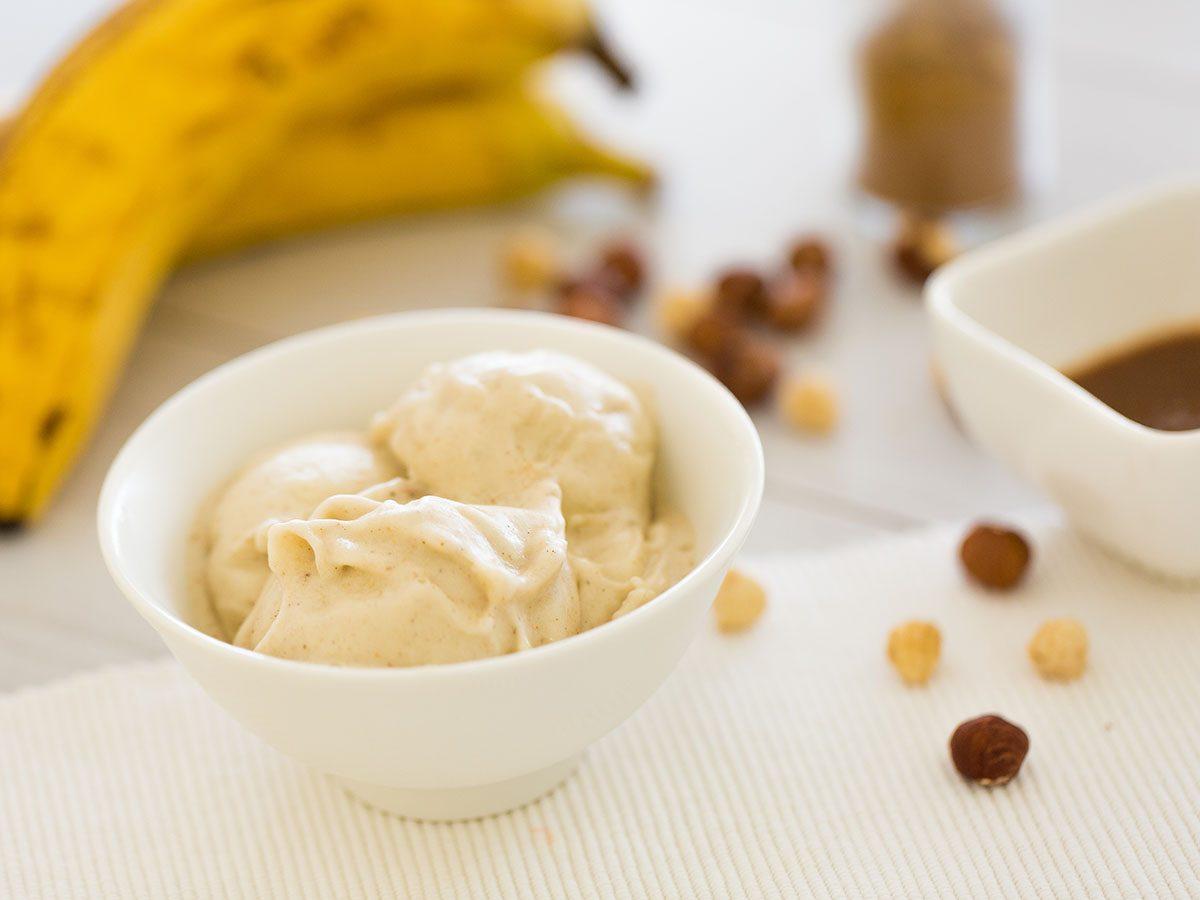 Banana ice cream.