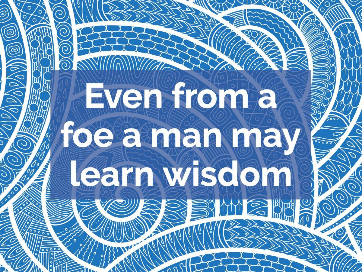 Greek proverb