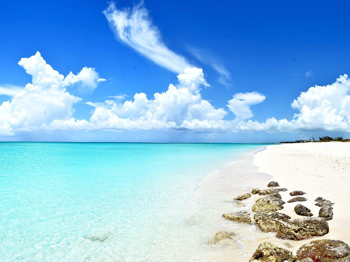 Best Caribbean beaches - Grace Bay, Turks & Caicos