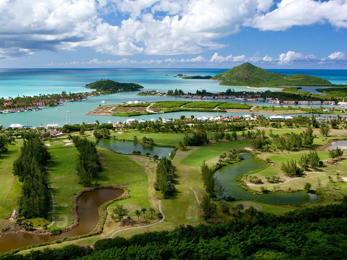 Best Caribbean Beaches - Jolly Harbour, Antigua & Barbuda
