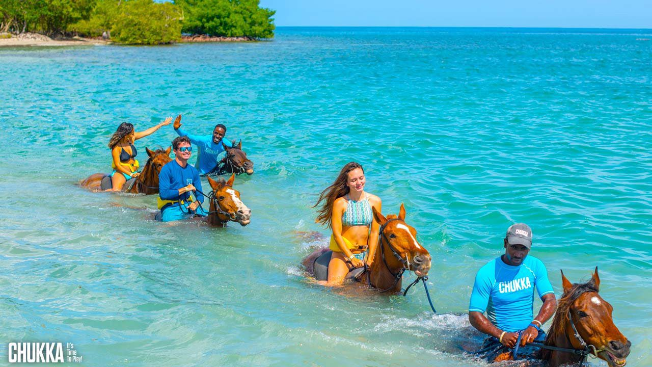 Best Caribbean Beaches - Sandy Bay, Jamaica, horseback riding