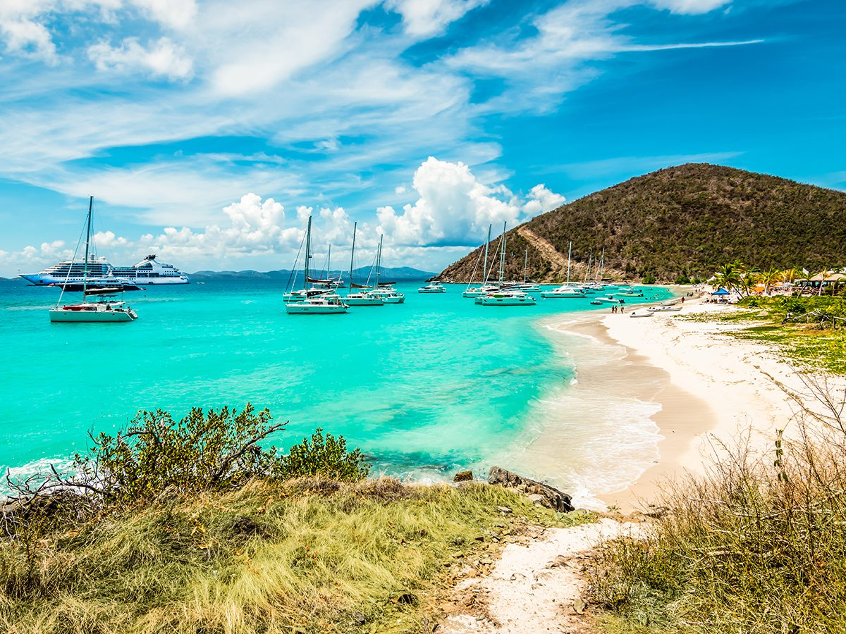 Best Caribbean Beaches - White Bay Beach, British Virgin Islands