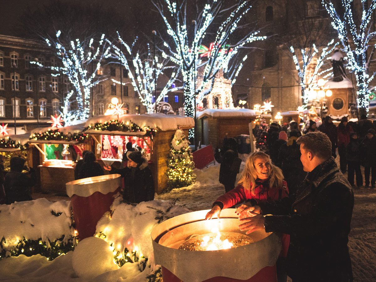 Holiday markets - German Christmas Market (Quebec City)